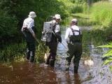 Brian, Noel and Katrine at King's Creek
