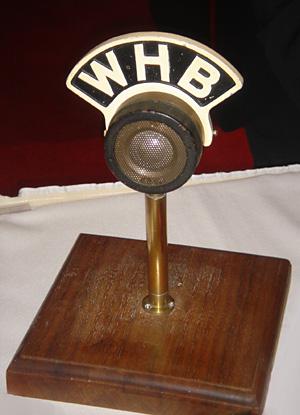 Original WHB Microphone - ca. 1930s
