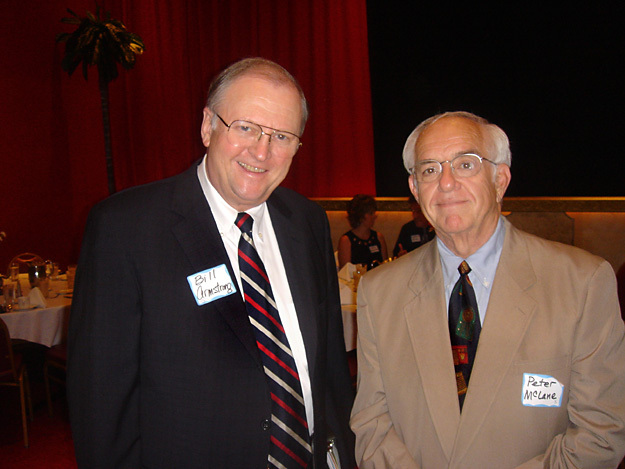 Retired United States Senator Bill Armstrong (Colo-R) & Long Time Iowa Broadcaster Peter McLane