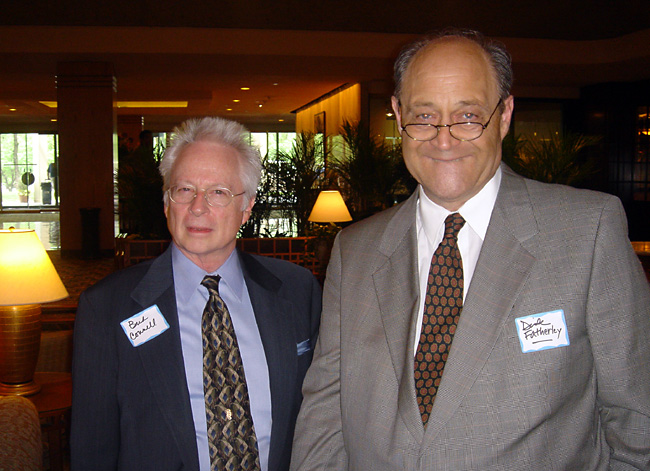 Vintage Storz Program Directors Bud Connell (KXOK) and Richard Ward Fatherly (WHB)