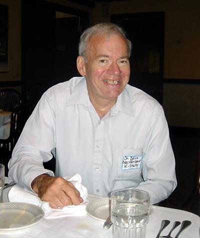 Dr. David McFarland, Chairman of Radio-Television/Telecommunications Department, Kansas State University