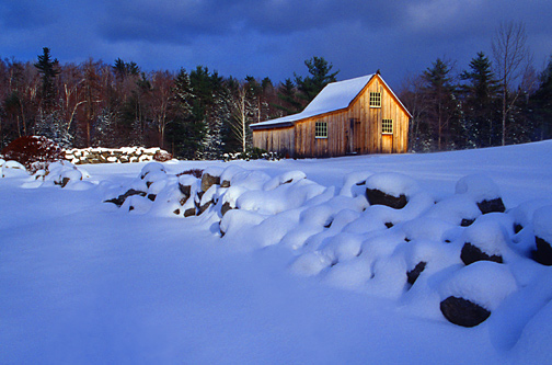 Shed in Winter - #263
