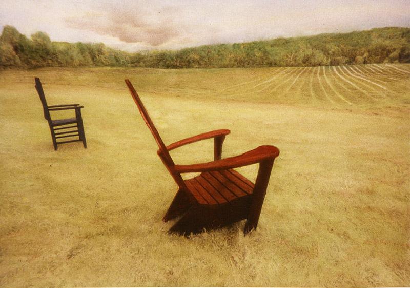 : Red Chair Blue Chair :