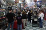 Gaming demos were crowded!