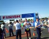 U S Air Force Marathon, Wright-Patterson Air Force Base, Dayton, Ohio. September 18, 2004