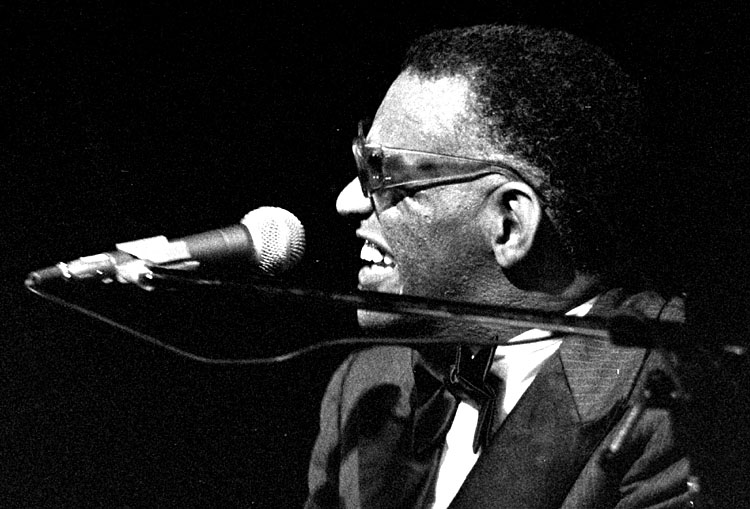 Ray Charles<br>The Netherlands, the Hague, Congresgebouw<br> July 13 - 1979