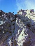 Cheminée de la VN du Petit Pic d'Ossau