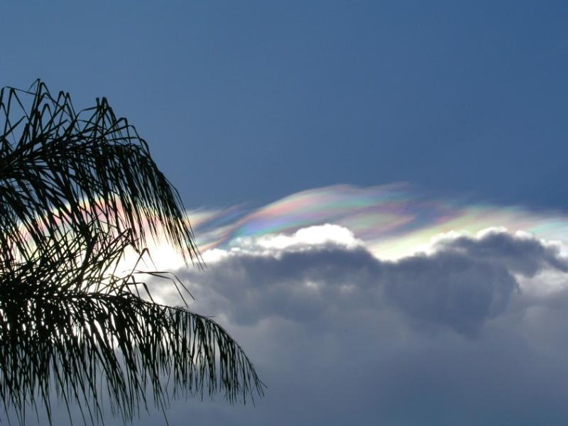 Multi-colored Clouds.