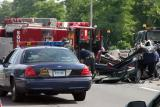 Extrication on the RT 8/25 Connector  (Bridgeport) 6/23/04