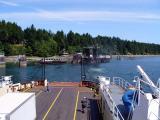 Leaving Denman Island