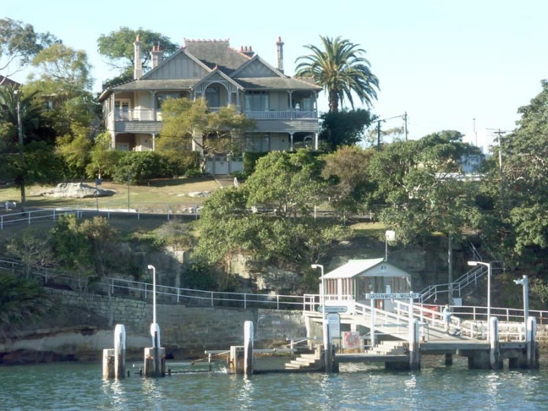 Old harbourside mansion