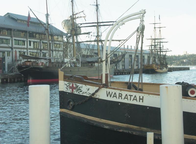 James Craig, Bounty and Waratah