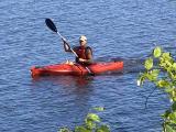 Kayaker on Ottawa River