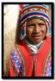Boy with Llama, Cusco, Peru
