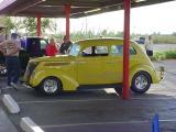 a sunny car show