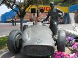 Nicki in race car
