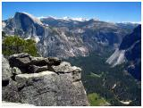 View of Half Dome and the Valley from the Rim