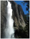 Yosemite Falls Sideview