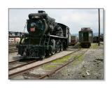In the TrainyardSteamtown NHSScranton, PA