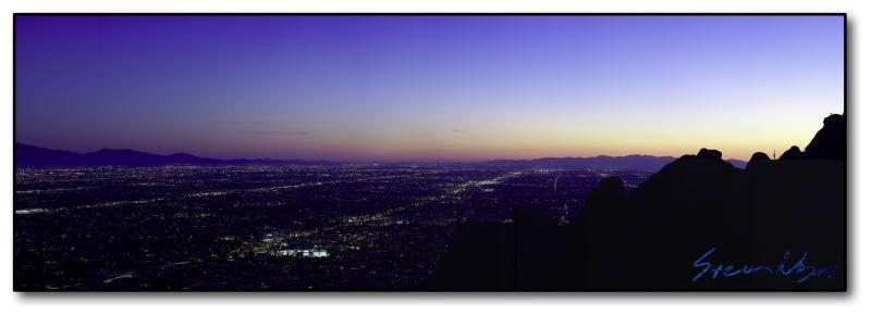 Phoenix Downtown Panoramic : Week 1