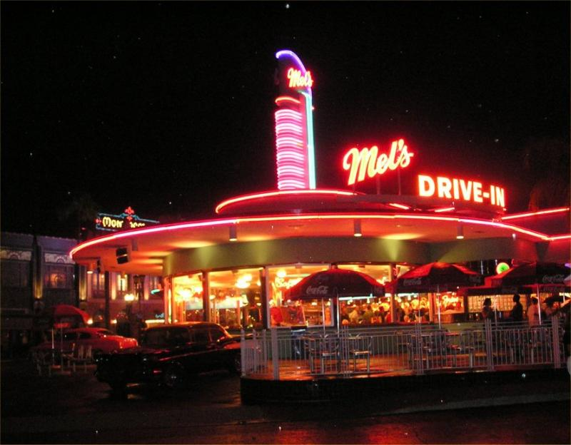 Mels Drive-in at Universal Studios