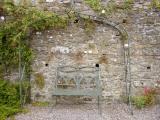 Garden bench at Bunratty Folk Park