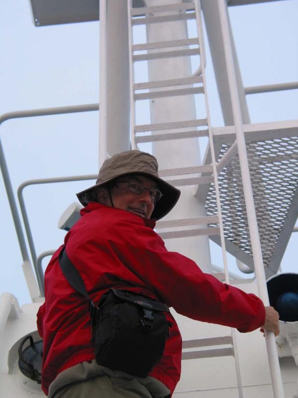 Peter heads for Molchanov bridge