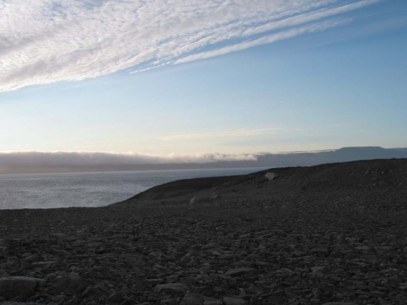 Beautiful Greenland, big sky