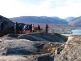 Investigating glacier marks