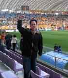 SOCCER Match in Miyagi Stadium, Sendai