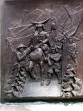 Bas relief of Masumune's March