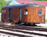 Illinois Railway Museum's backyard