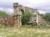 Ruins of old fortifications