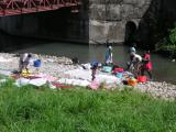 Washing in the River