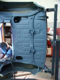 Chassis Restoration - Rear Trunk Under Carriage