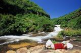 Cânion do Rio Jaburu, trilha para cachoeira do frade, Ubajara.