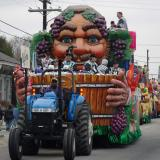 Krewe of Bacchus Parade Line Up 2005