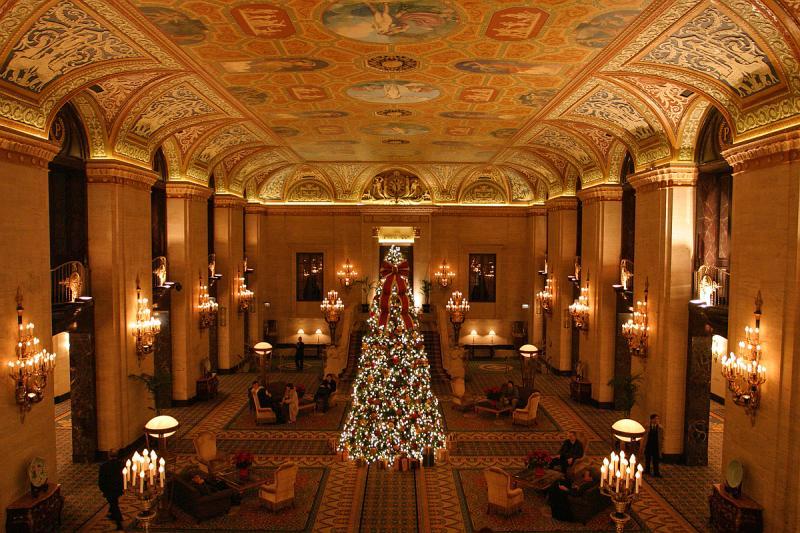 RSNA - The Palmer House Hilton Lobby