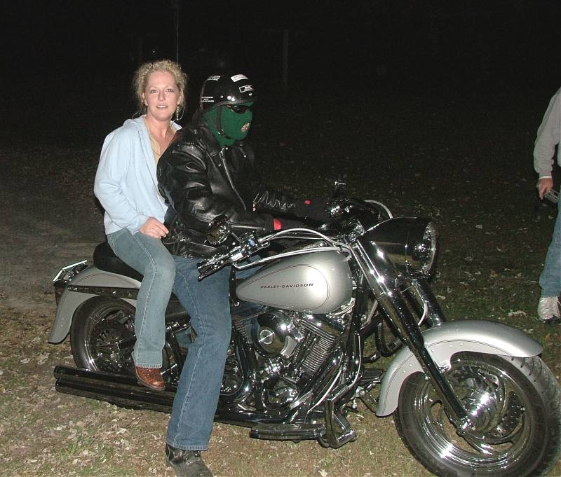 Debbie B and Joe Mc Cloud