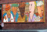 Street art near Pioneer Square