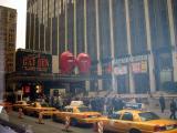 The queue at Madison Square Garden