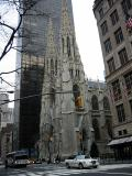 St. Patrick's cathedral on 5th Avenue