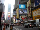 Times Square and  Broadway
