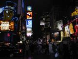 Times Square & Broadway at night