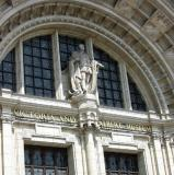 Closer view of V & A entrance