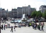 Trafalgar Square,  another view