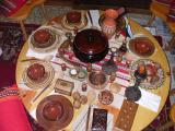 Bulgarian table setting