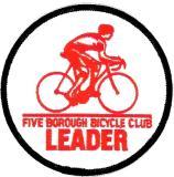 5 Borough Bicycle Club, 2004 Leadership Weekend