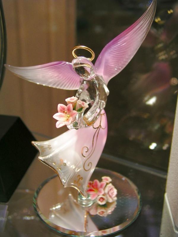 Glass Angel, Downtown Disney, Florida