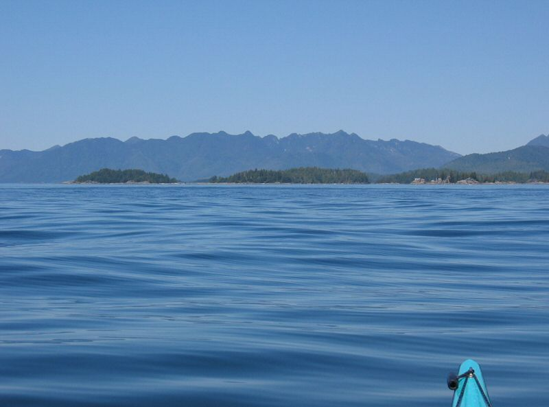 Approaching the Bunsby Islands